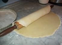 Pasta brisée con burro e strutto