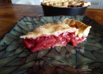 Double crust pie di fragole