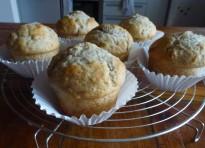 Muffin banana e noci
