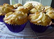 Muffin uvetta e cocco