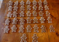 Biscotti di pan di zenzero – Gingerbread men