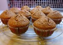 Muffin Nutella® e nocciole