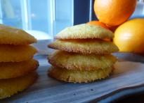 Biscotti polenta e arancia