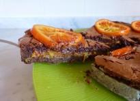 Crostata doppio cioccolato e arance