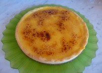 "Crostata ""brulée"" con orange curd"